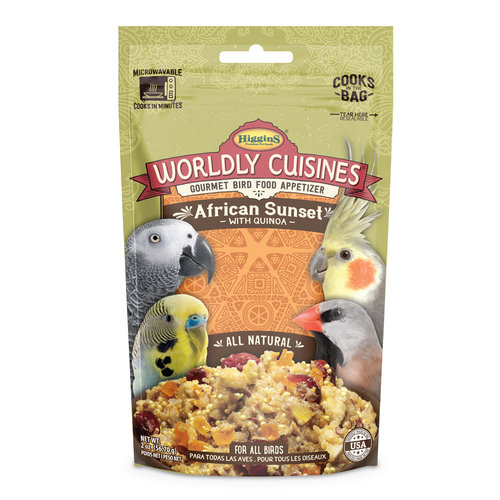 Higgins Worldly Cuisines- African Sunset with Quinoa