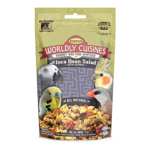 Higgins Worldly Cuisines- Indca Bean Salad with Quinoa