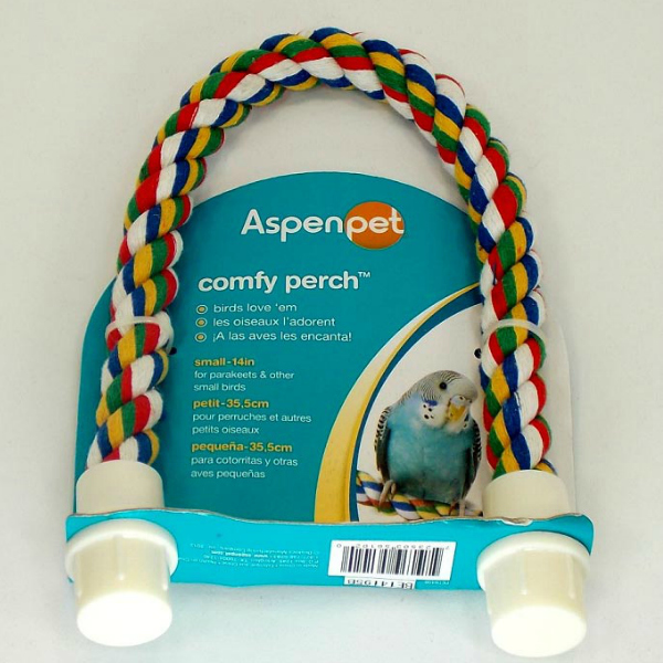 """Comfy Perch - Bendable Rope Perches- Small 14"""""""