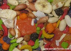 World of Birds- Large Pellet Fruit & Nut Blend