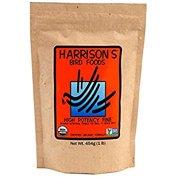 Harrison's Pellet- High Potency Fine 1 LB