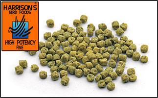 Harrison's Pellet- High Potency Fine 5 LB