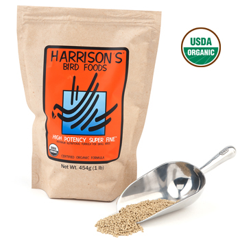 Harrison's Pellet- High Potency Super Fine 1 LB