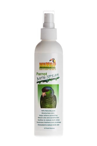 Mango Bath Spray: Parrot