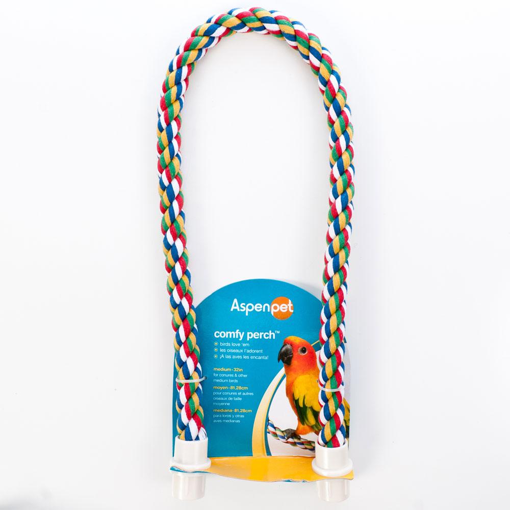"""Comfy Perch - Bendable Rope Perches Medium 32"""""""