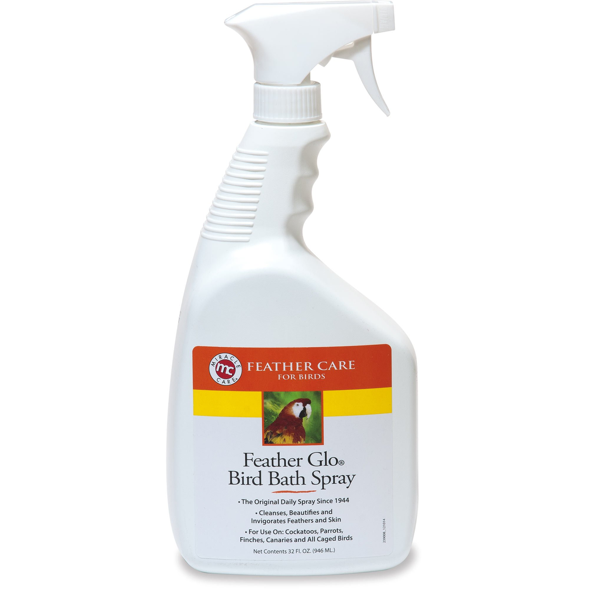 Feather Glo Bird Bath Spray- 32 FL OZ