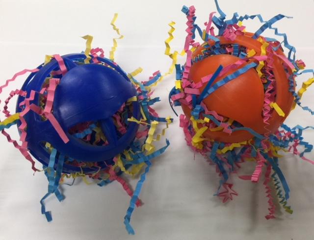 Stuffed Wiffle Balls