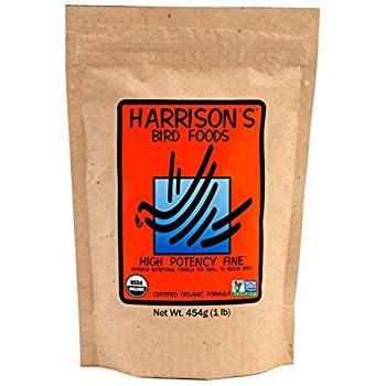 Harrison's Pellet- High Potency Fine 1 LB