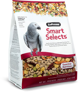 ZuPreem Smart Selects- Parrots & Conures