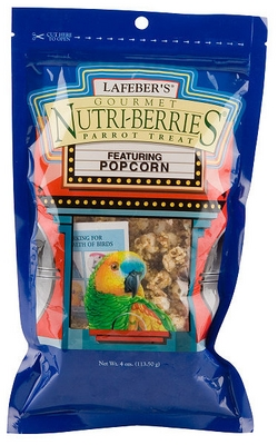 Gourmet Popcorn Nutri-Berries for Parrots