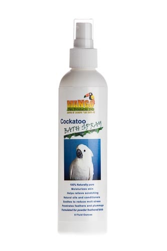 Mango Bath Spray: Cockatoo
