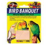 Zoo Med- Bird Banquet Mineral Block with Fruit