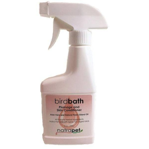 Natra Pet Bird Bath Spray- 8 Oz