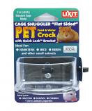 "Lixit Cage Snuggler ""Flat Sided"" Food & Water Crock 3 Oz"