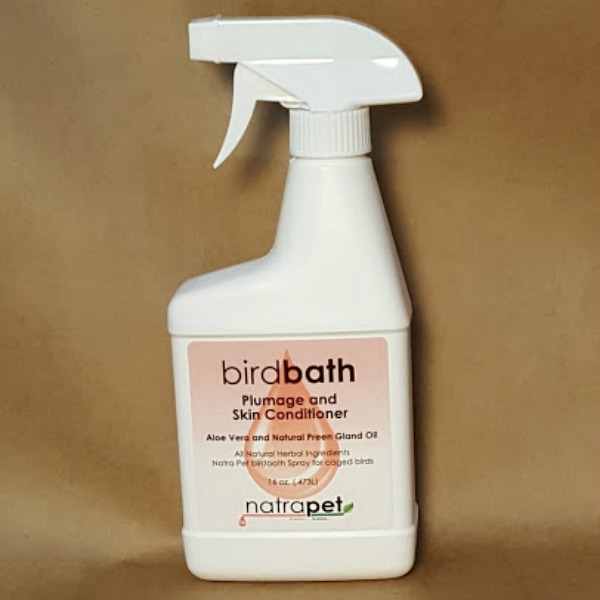 Natra Pet Bird Bath Spray- 16 Oz