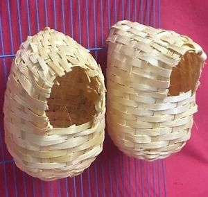 Covered Nest, Bamboo- Large