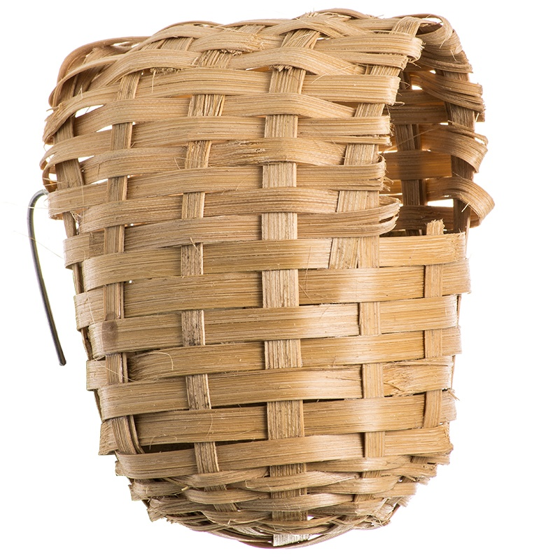 Covered Nest, Bamboo- Small