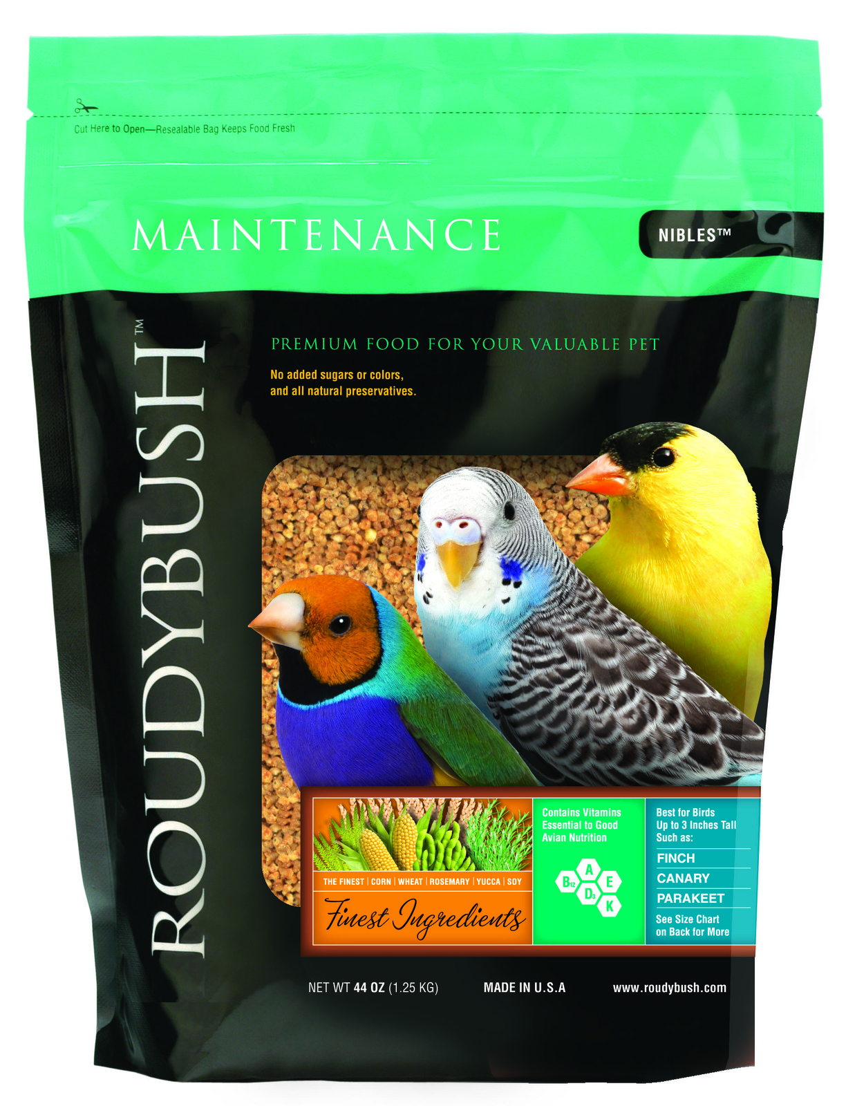 Roudybush Daily Maintenance - Nibles