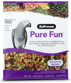 Zupreem Pure Fun- Med/Large