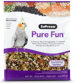 Zupreem Pure Fun- Medium